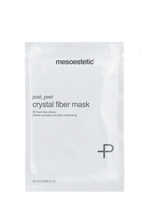 Post-Peel Crystal fiber mask 5pc